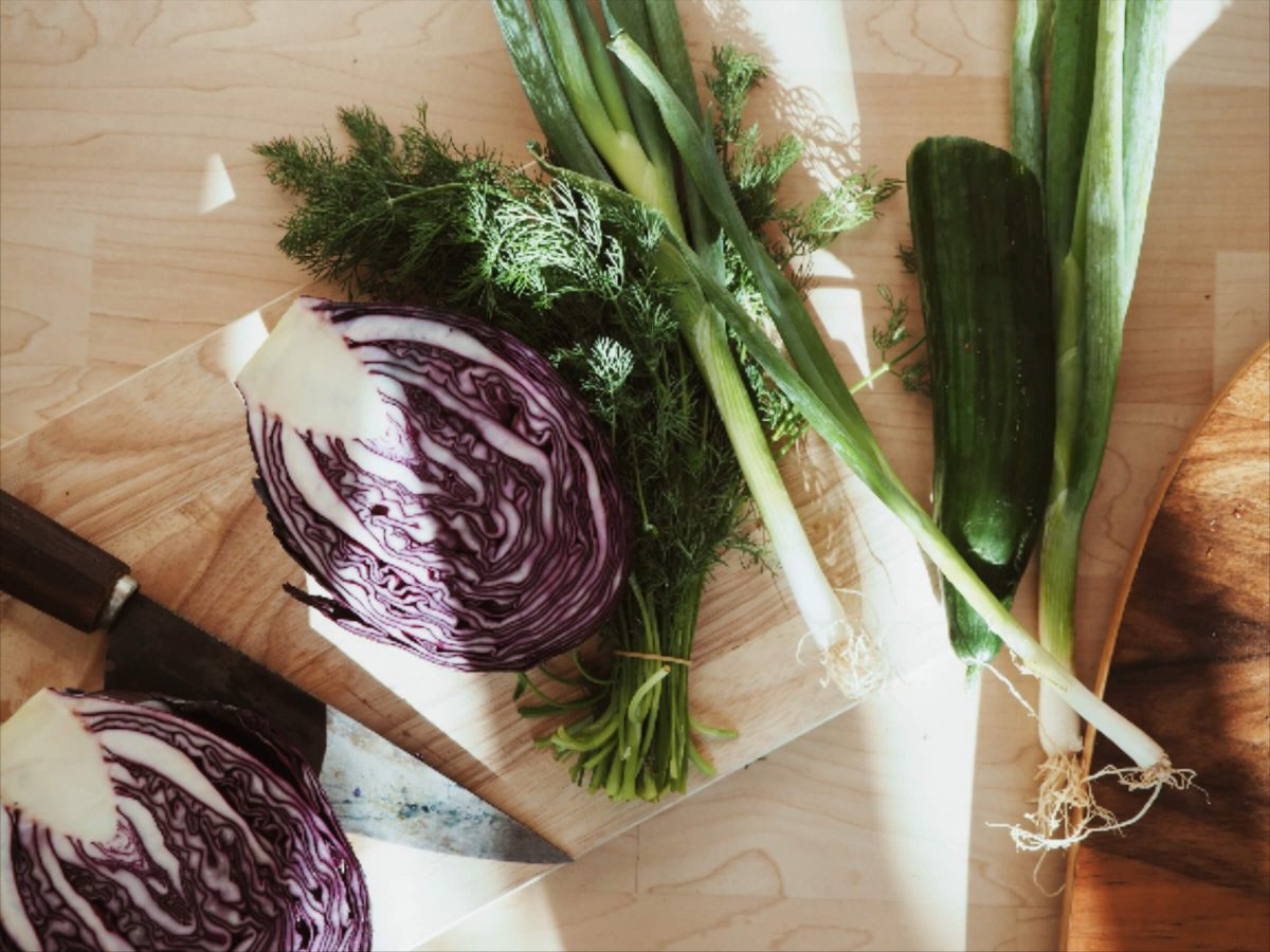 Gemüse einlegen   Gartengemüse