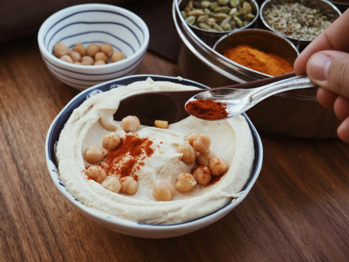 Hummus selber machen |Klassiker orientalische Küche | Hummus garnieren