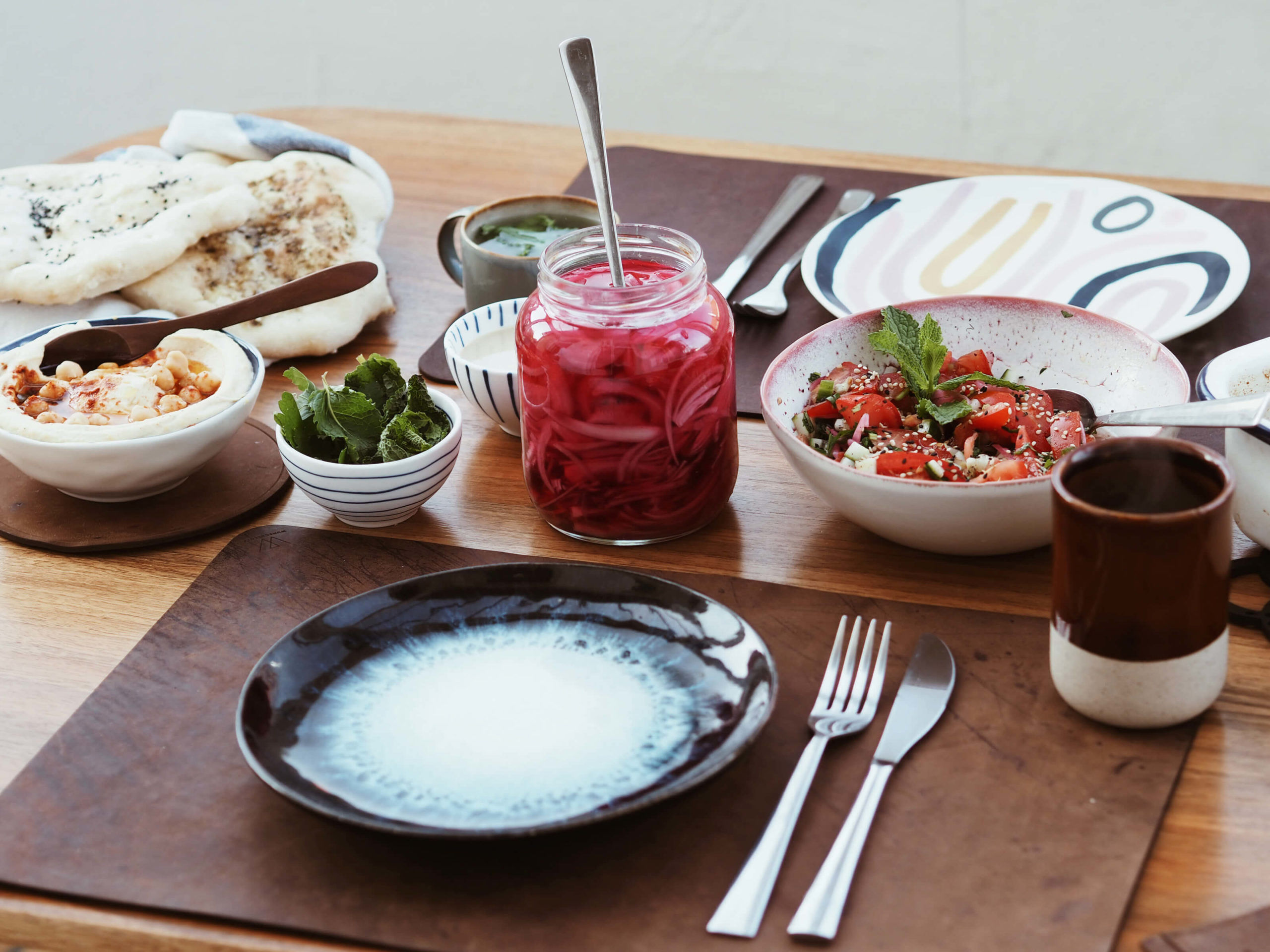 Orientalische Küche   zusammen essen  Freunde einladen   Wunschleder HOME