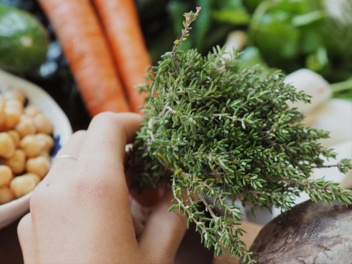 Thymian |Kochrezept |Zutaten |Herbst