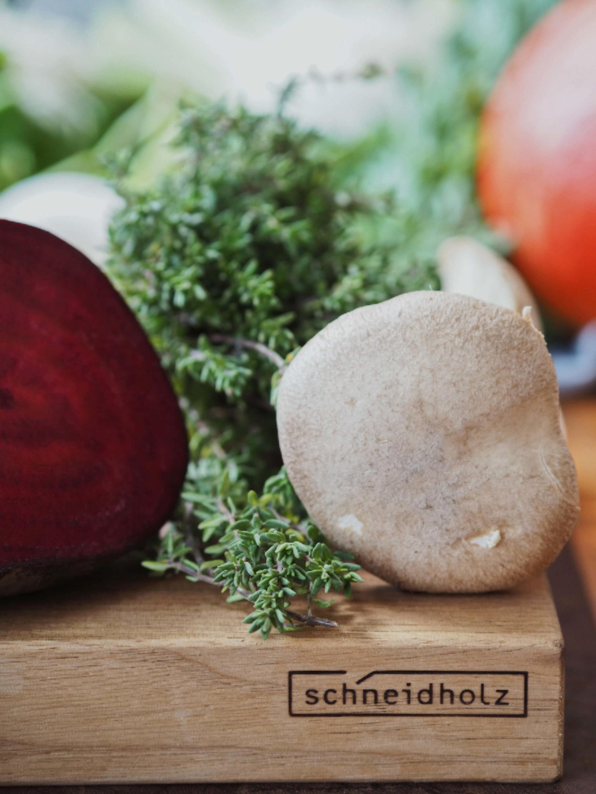 Pilze |Rezept |herbstliche Galette
