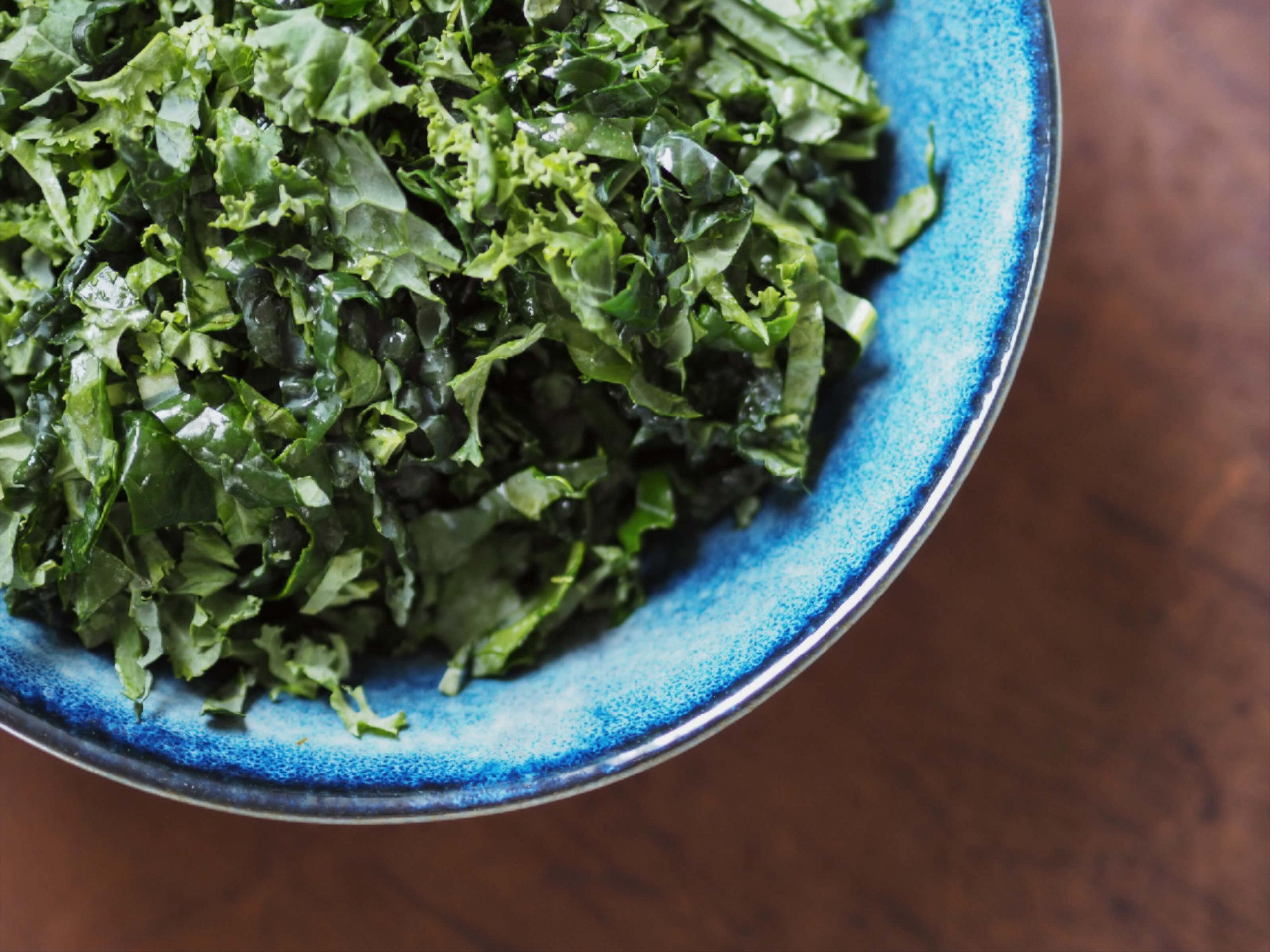Grünkohl | Grünkohlsalat |Herbstsalat