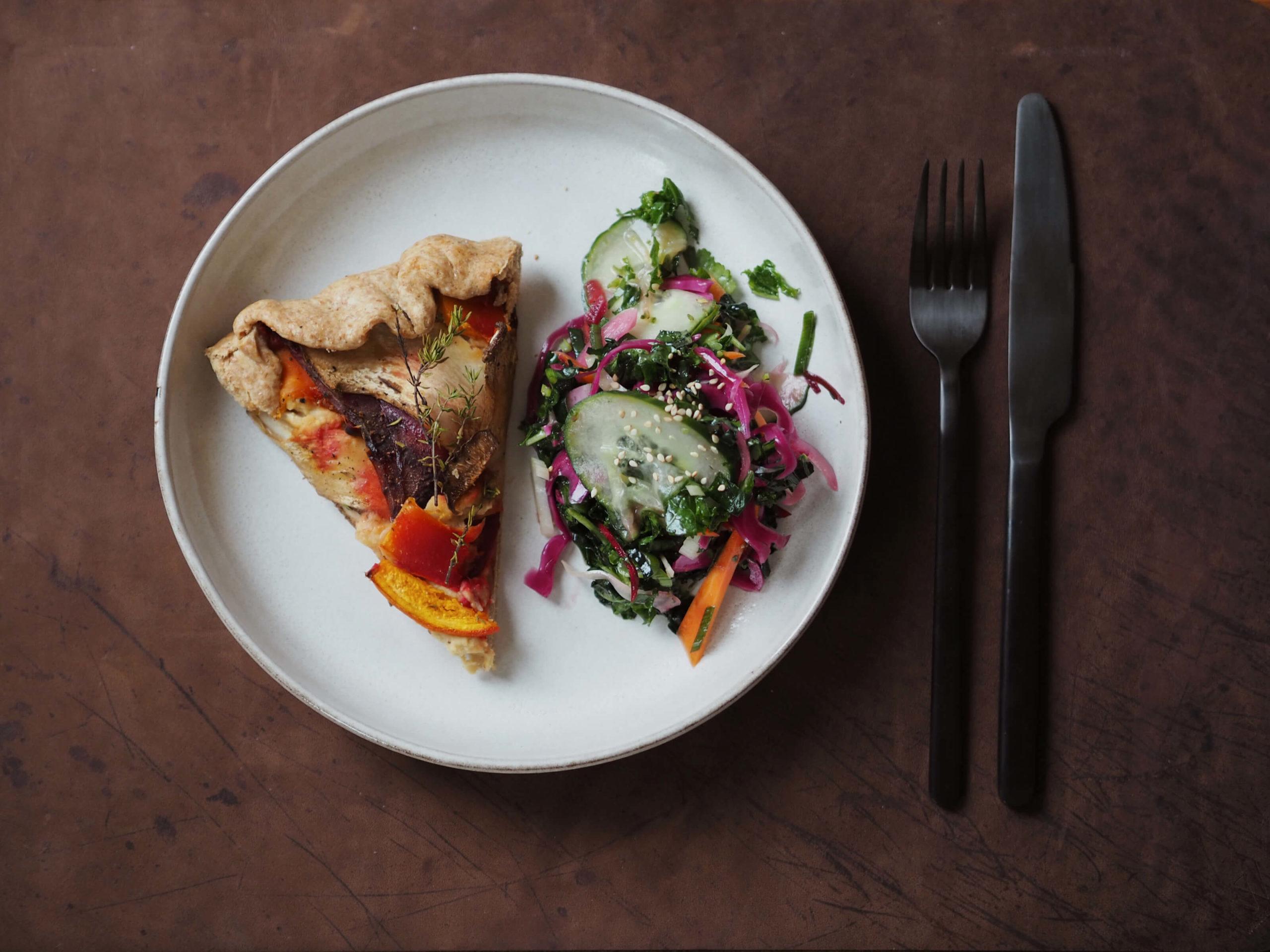 Galette |Herbstrezept | Gemüse
