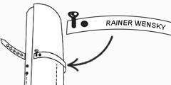 Messertasche aus Leder Personalisieren Rolltasche für Messer Wunschleder HOME