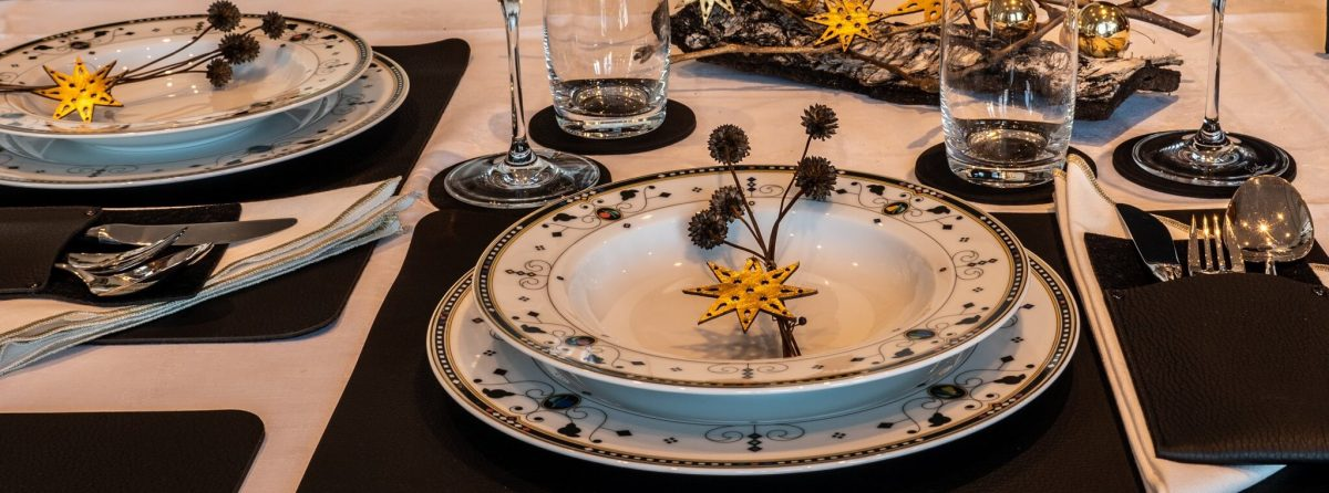 Tischdeko für Weihnachten Wunschleder HOME