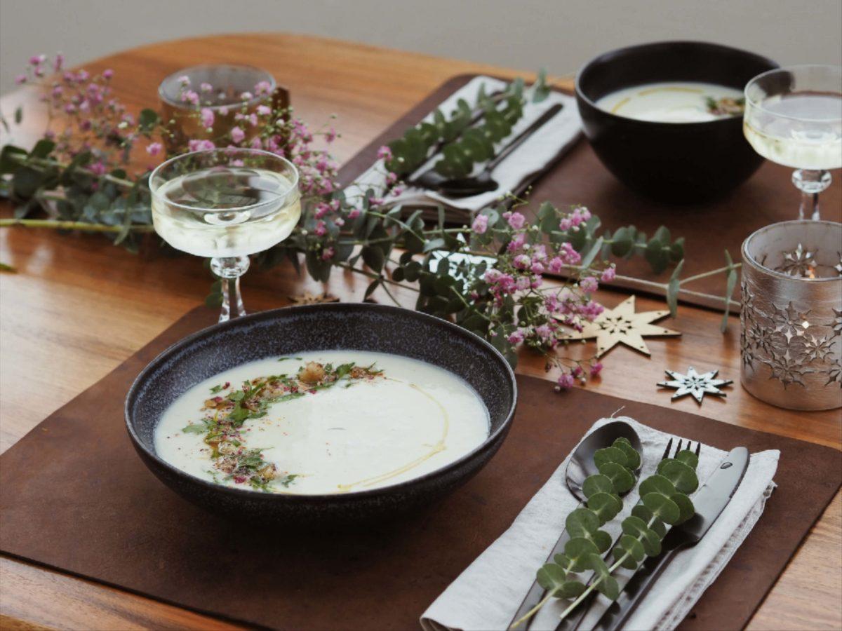 Blumenkohlsuppe |Wunschleder Home |Weihnachten |Weihnachtsmenü