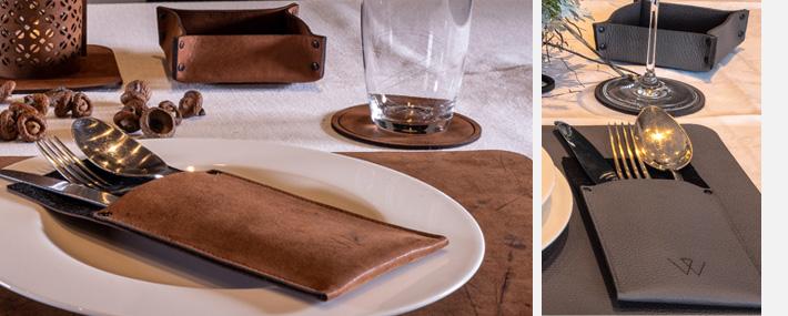 Tischdekoration, Tisch, Dekoration, Wunschleder Home