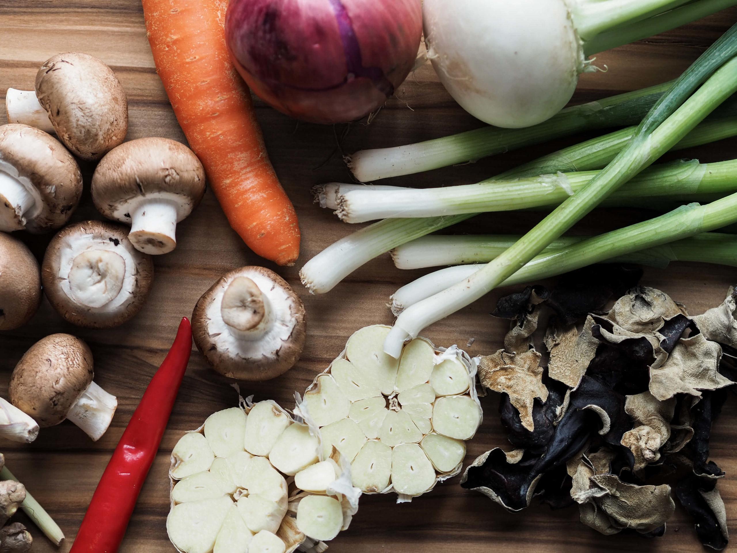 vegane Brühe |Suppe |Zutaten |Flavour