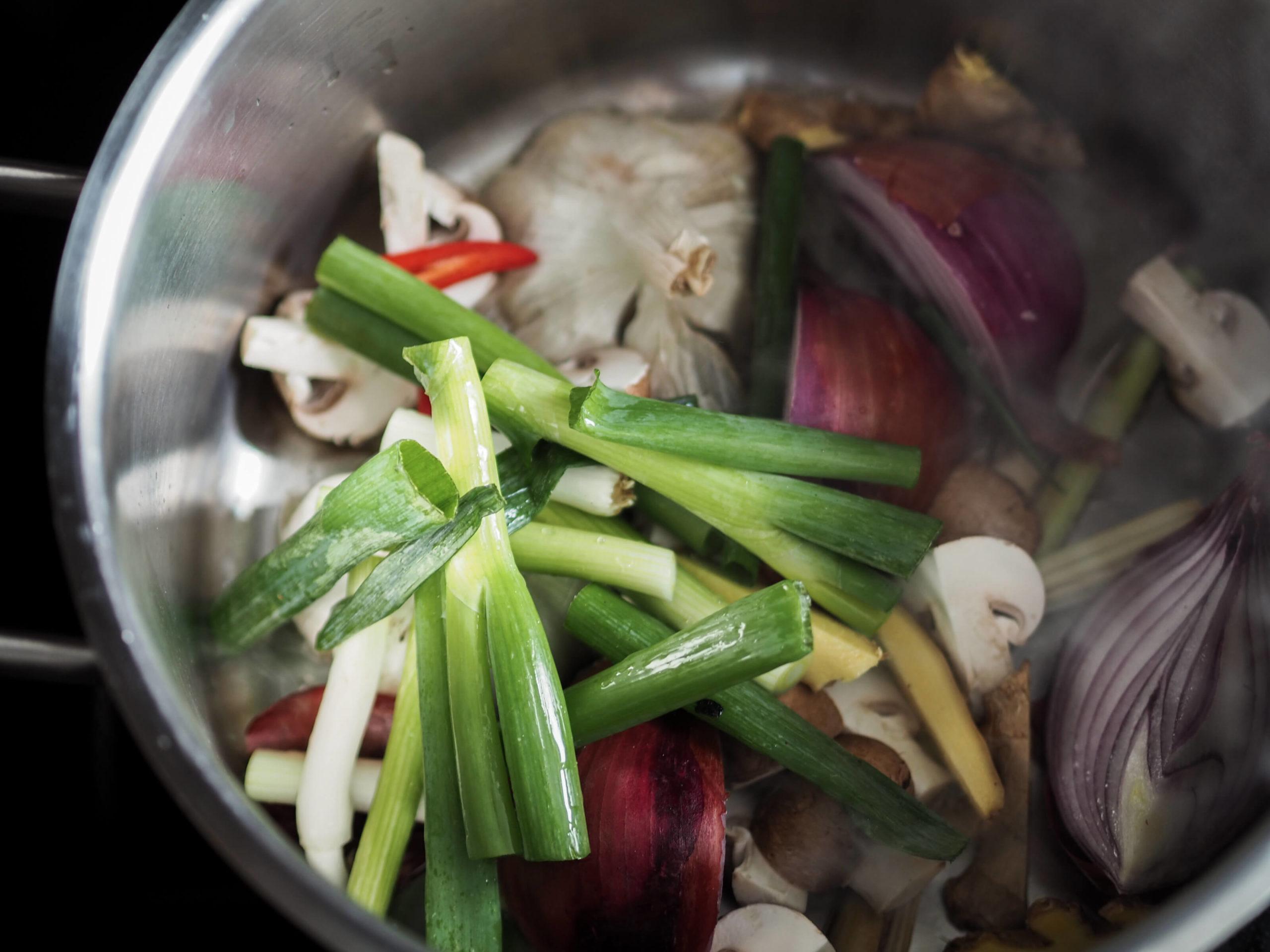 Wan Tan Suppe Rezept |Brühe | Wunschleder HOME