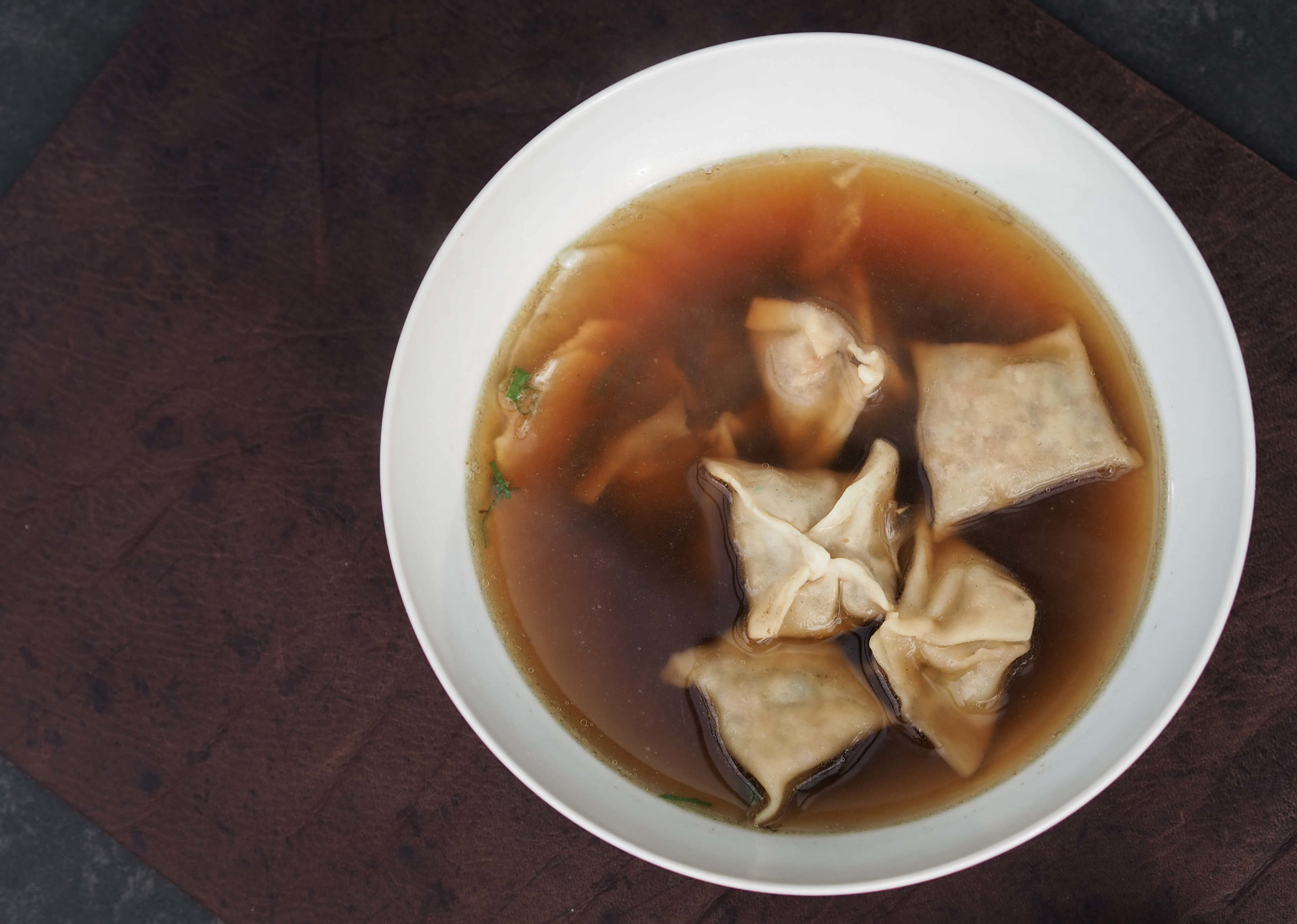 Wan Tan Suppe | Tischset | Wunschleder Home