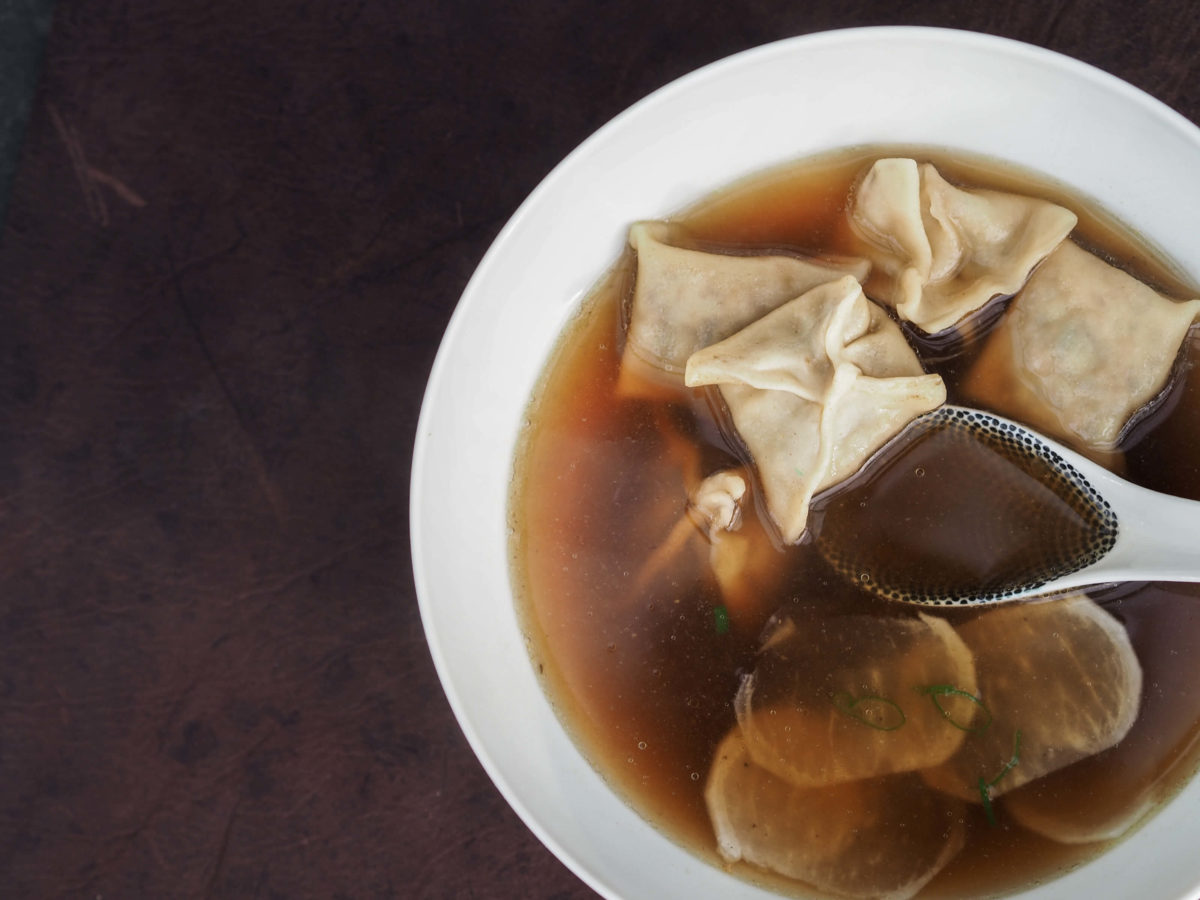 Wan Tan Suppe  Brühe   selbstgemacht, Wunschleder HOME
