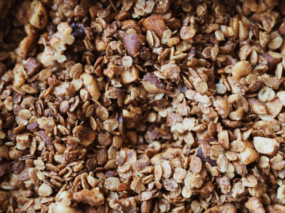 Tahini Granola |lecker |selbstgemacht