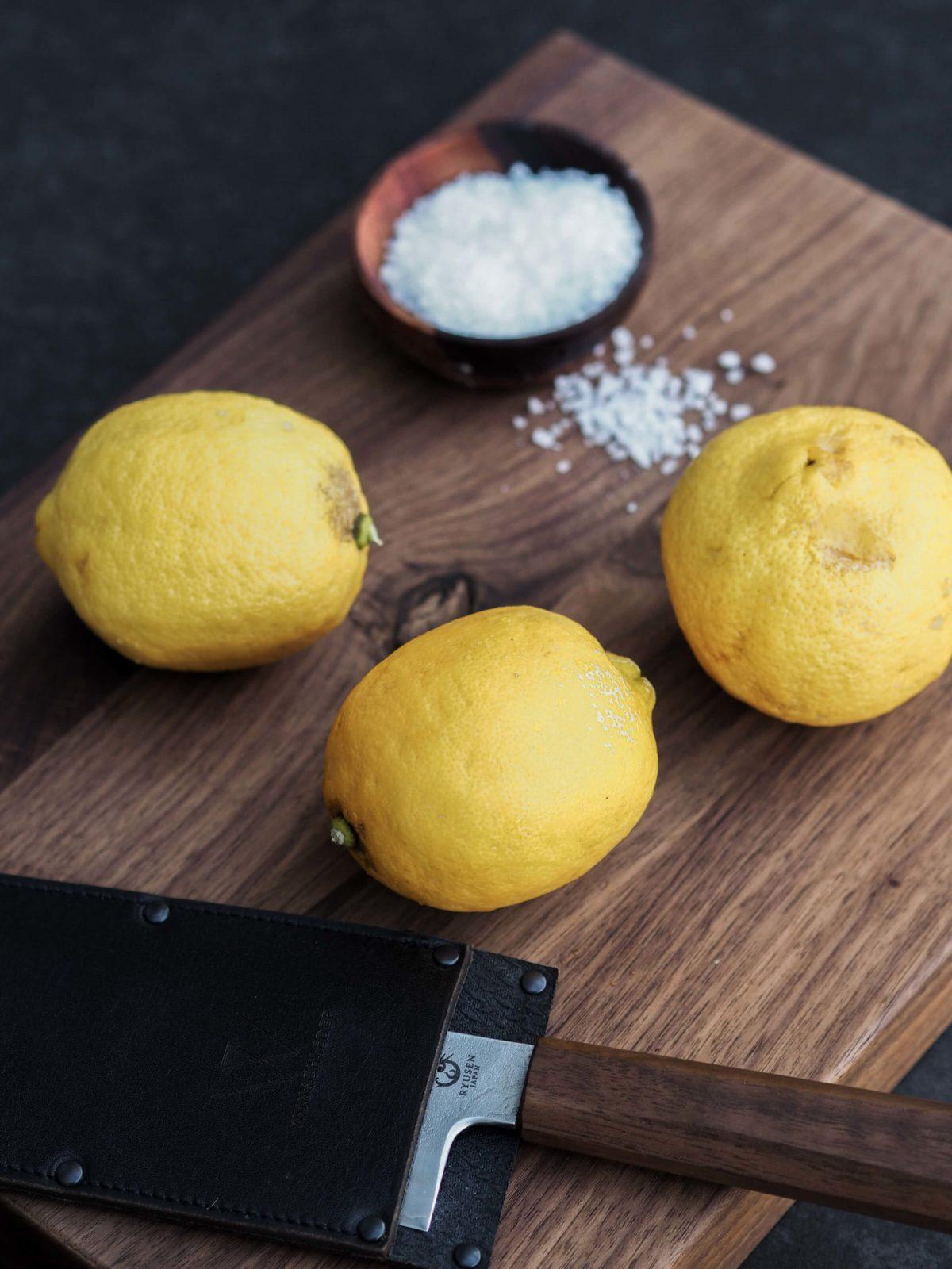 Salz | Zitronen | einlegen