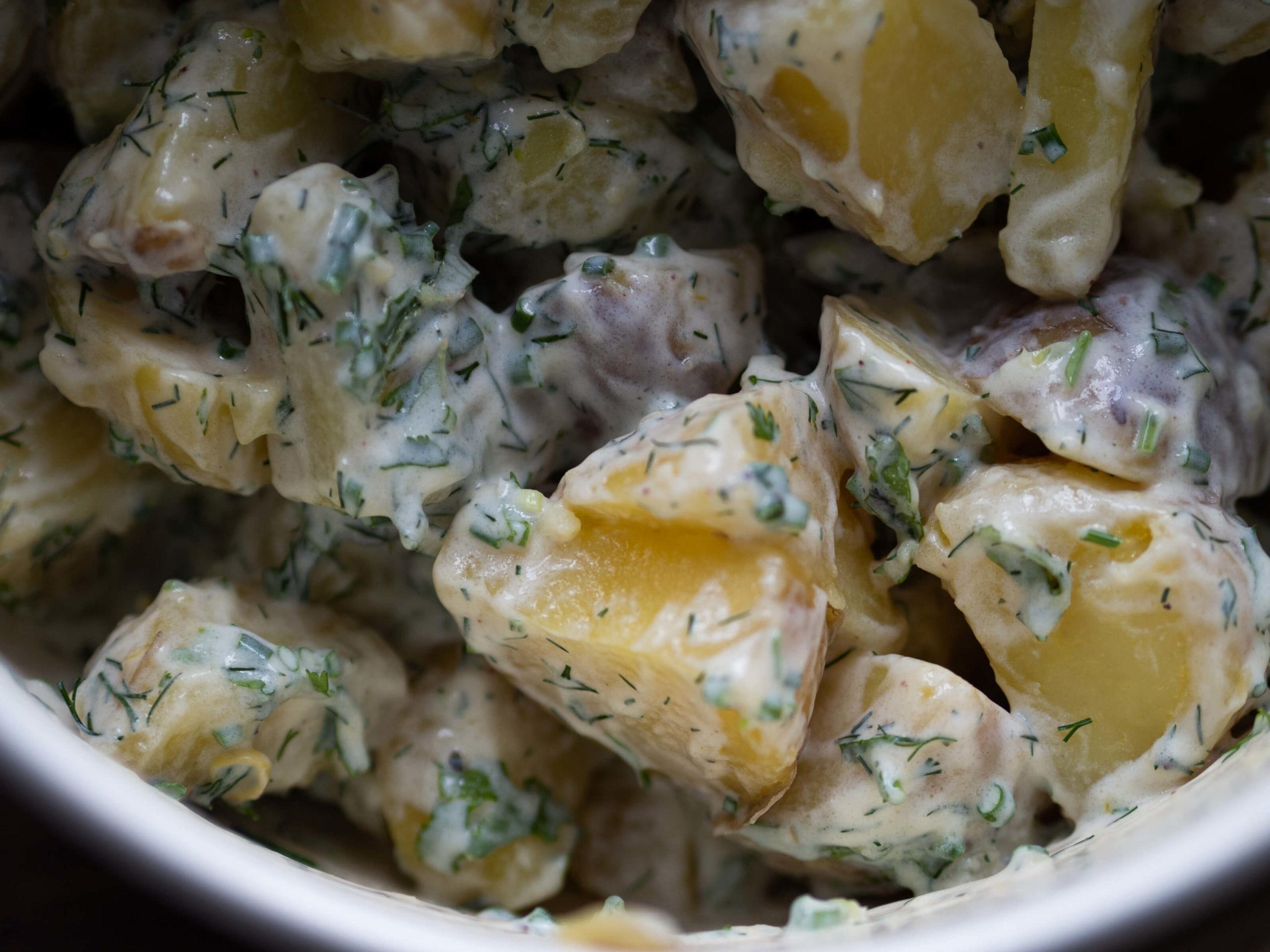 Kartoffelsalat | frisch | Kräuter | Joghurt