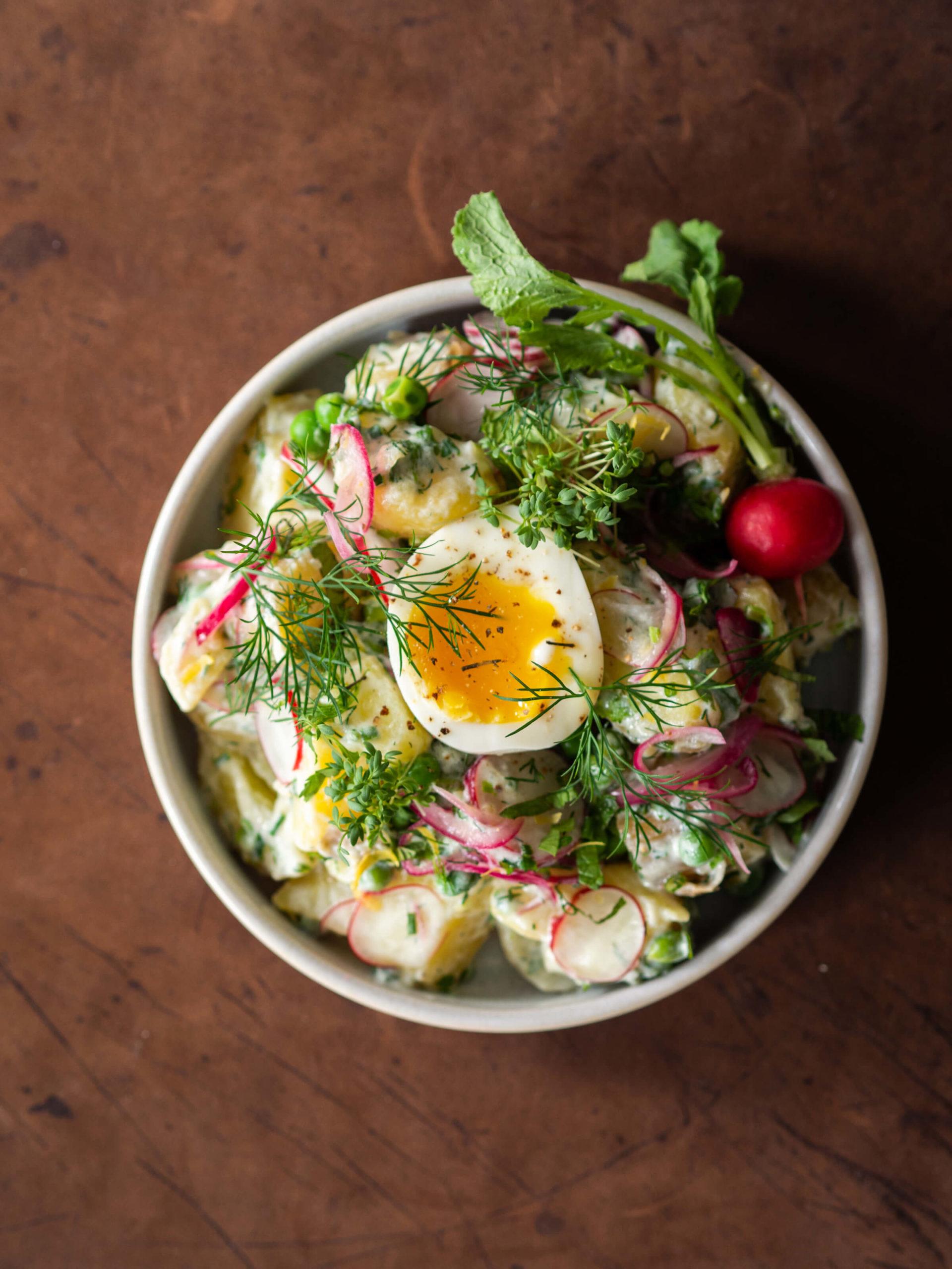 Kartoffelsalat Rezept, Wunschleder HOME