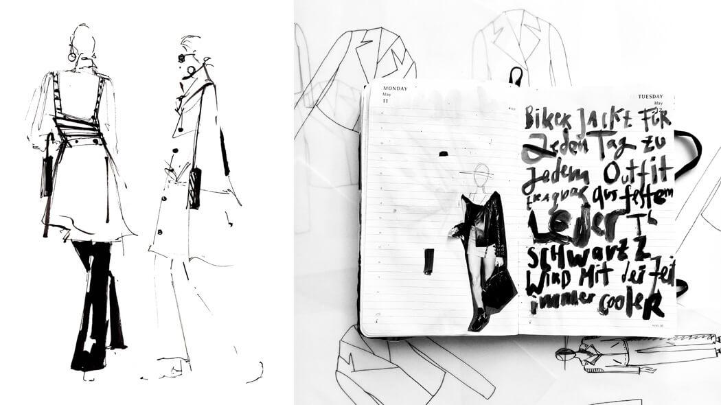 Emely Wensky, Zeichnung, Wunschleder HOME