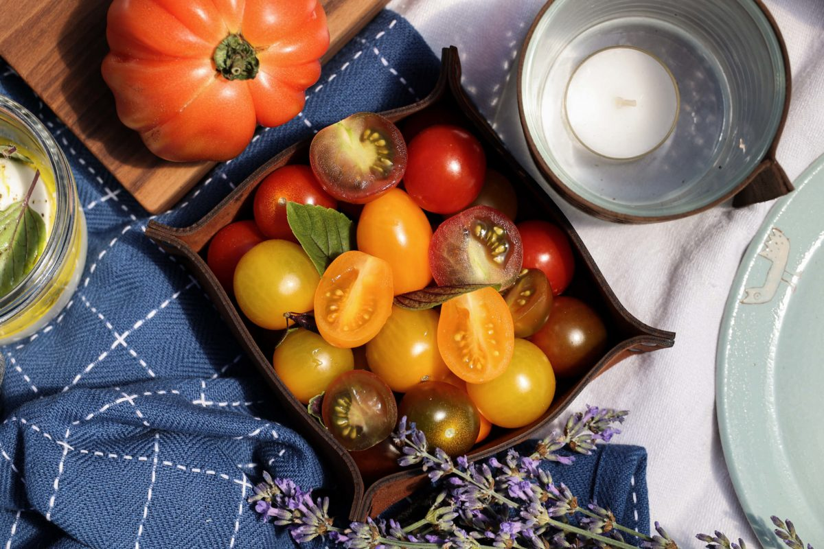 Tomaten Mozzarella Picknick lecker einkaufen